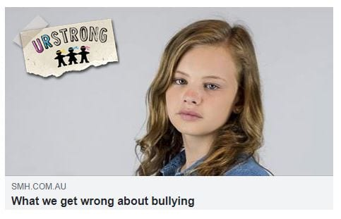 What We Get Wrong About Bullying